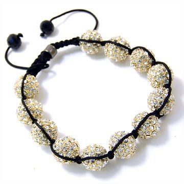 Unisex Bling Armband - DISCO BALL TWELVE gold