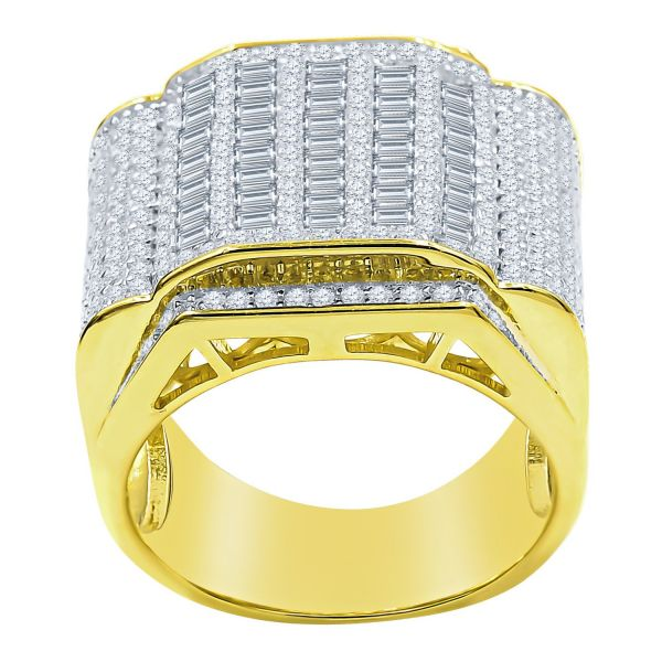 Sterling 925er Silber Micro Pave Ring - CHARISM