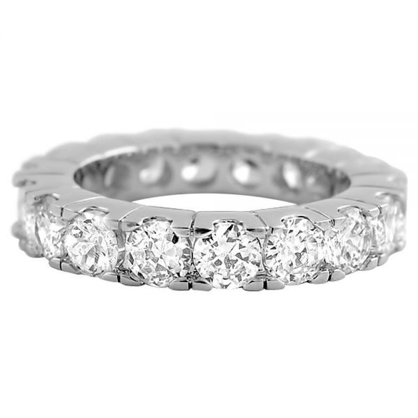 Iced Out Bling Micro Pave Ring - ETERNITY silber