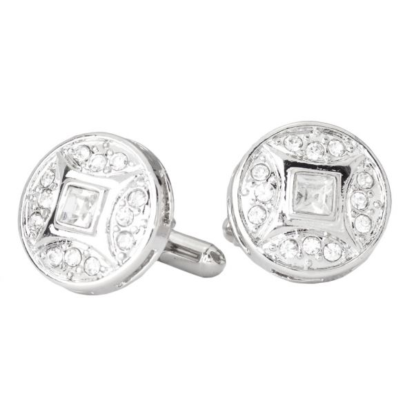 Iced Out Hip Hip Cuff Links - Wonder Bling