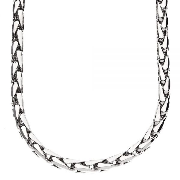 Iced Out Bling DC FRANCO CHAIN - 5mm silver