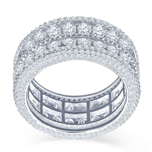 Sterling 925er Silber Micro Pave Ring - WINSOME gold