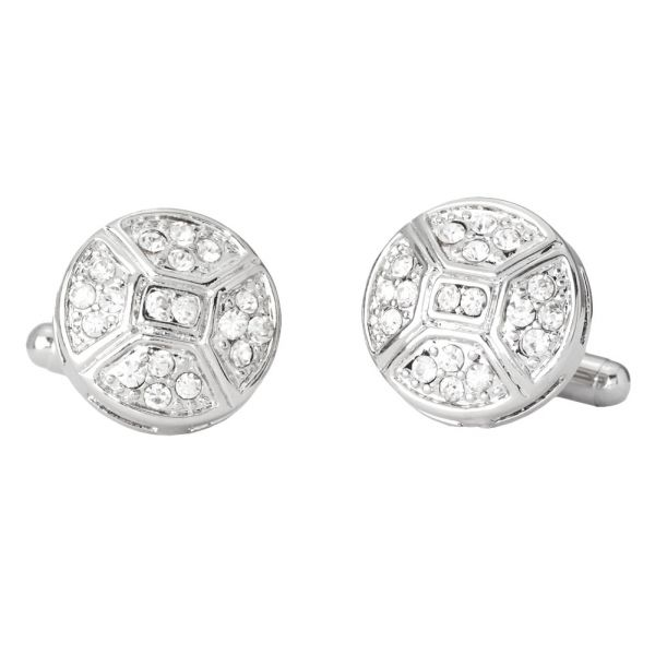 Iced Out Hip Hip Cuff Links - Deliousous Bling