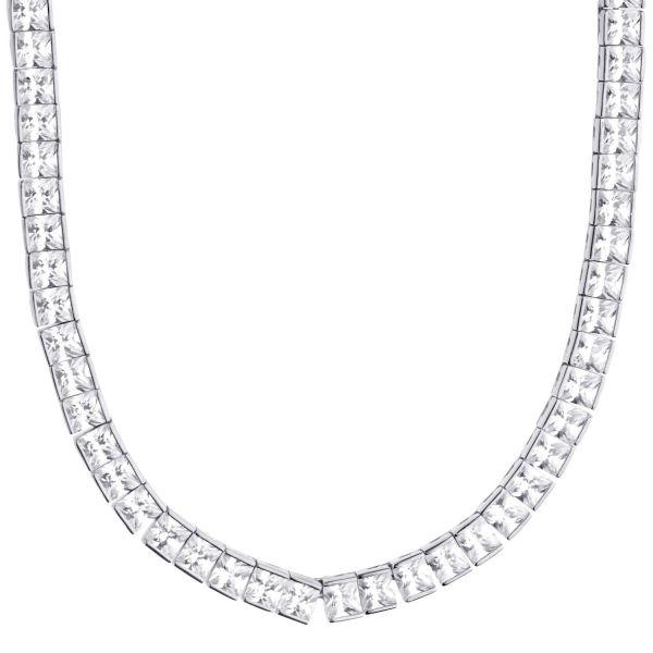 Premium Bling Sterling 925er Silver Tennis Chain 5mm