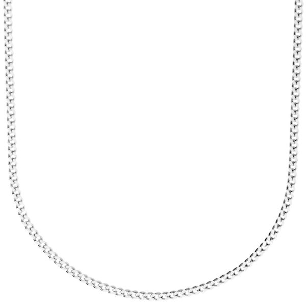 925 Sterling Silver Bling Chain - CURB 2mm