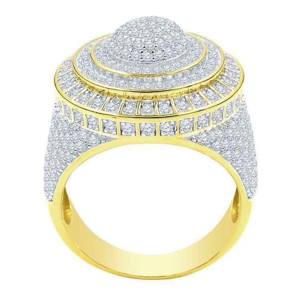 Sterling 925er Silber Micro Pave Ring - DAZZLE