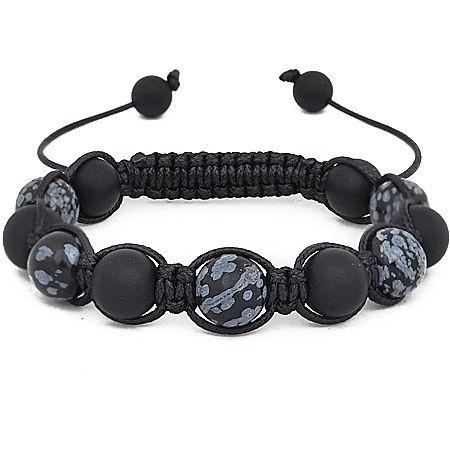 Unisex Bling Armband - SPLATTER schwarz