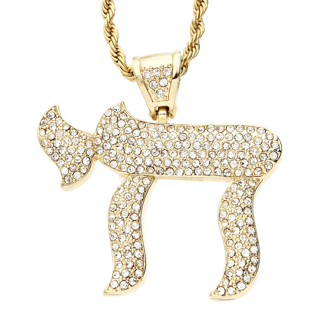 hop necklace pendant kingice king products chai hip gold ice