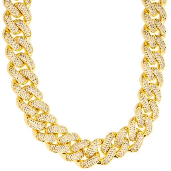 ICED OUT Cuban Link Bling Panzerkette - 18mm