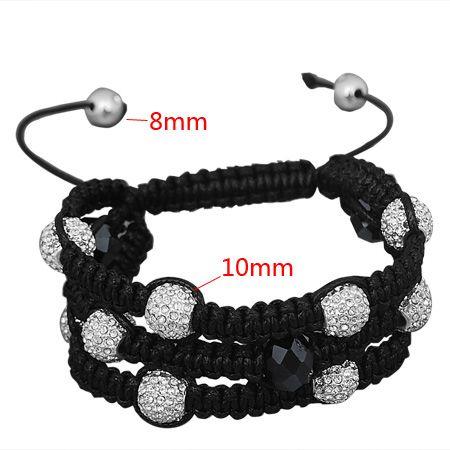 Unisex Bling Bracelet - Beads 3 ROW