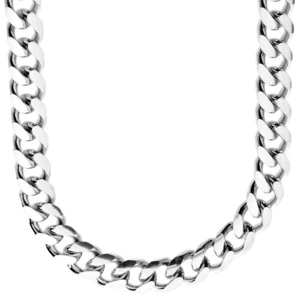 925 Sterling Silver Bling Chain - MIAMI CUBAN 10mm