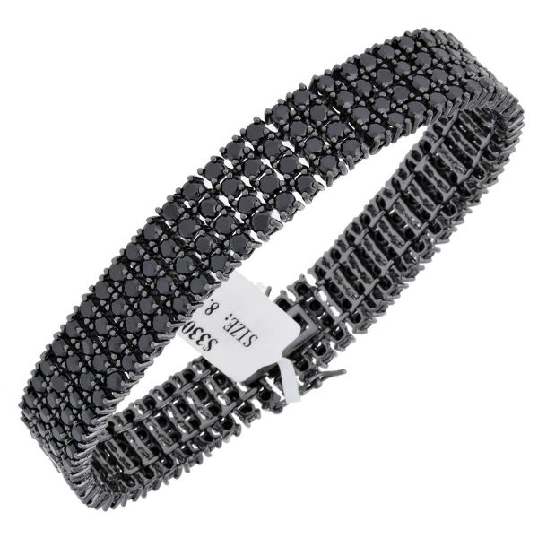 Iced Out Bling High Quality Armband - FULL BLACK