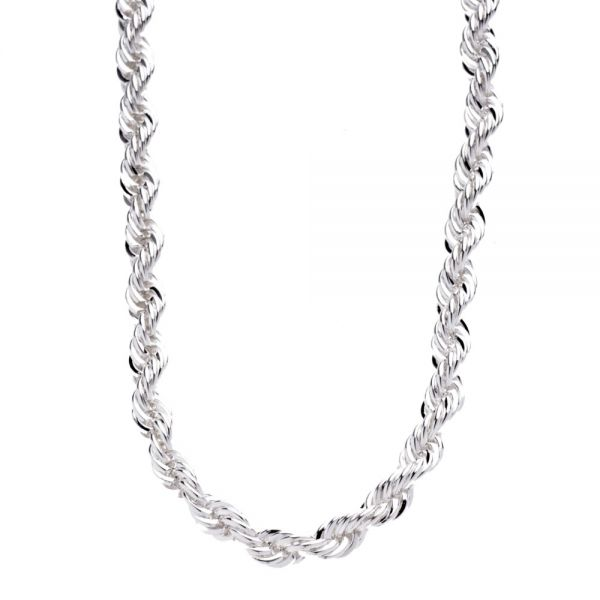 Siver Sold Rope TAIO Chain - 6mm