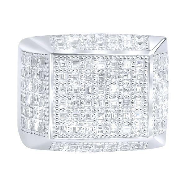 Sterling 925er Silber Pave Ring - ARTS