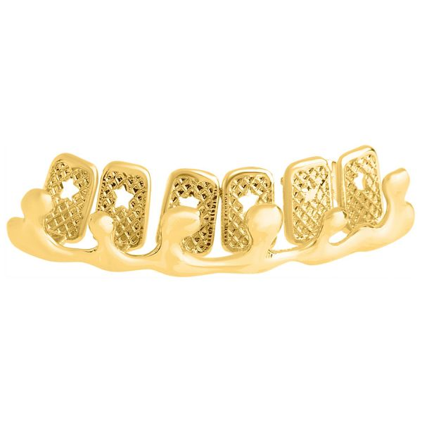 One size fits all Top Grillz - Bling Drip gold
