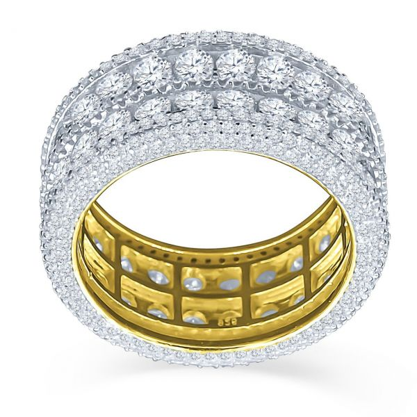 Sterling 925er Silber Micro Pave Ring - WINSOME