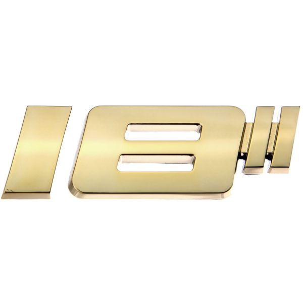 Luxbling Auto Chrom Felgen Zoll 3D Emblem - gold 16-20 Zoll