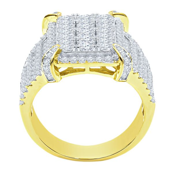 Sterling 925er Silber Micro Pave Ring - JAZZ