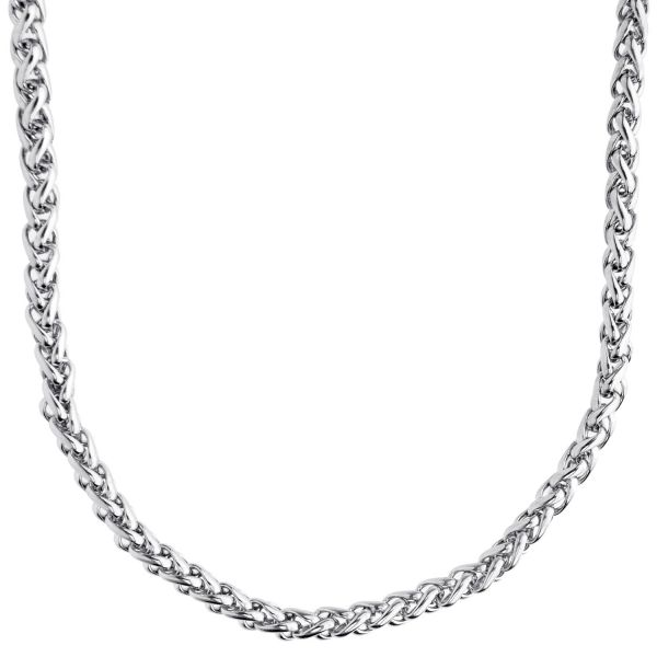 Iced Out Stainless Steel FRANCE 4mm Chain